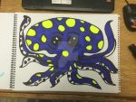 Octopus Blue by ARTBoY-M