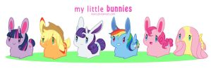MLP- My Little Bunnies by niaro