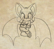 Rouge sketch 2 by JesseL