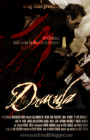 D for DRACULA Movie Poster 02 by AlexSlevin