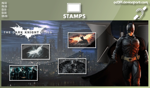 Stamps - 2012 - The Dark Knight Rises by od3f1