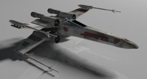 T-65B X-wing Starfighter by Brandx0