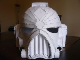 WIP - Space Marine Helmet by NiallCampbell