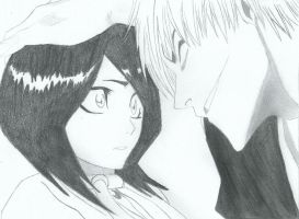 gin and rukia by kuchiki6byakuya