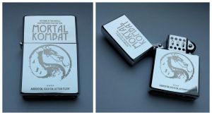 MORTAL KOMBAT - engraved lighter by Piciuu