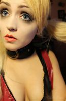 Harley Quinn: Arkham City Makeup Test by W0lfieRose