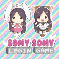 Somy Somy Login Game chibis by keitenstudio