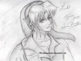 Link  ( Sketch ) by Sesshomaru-love