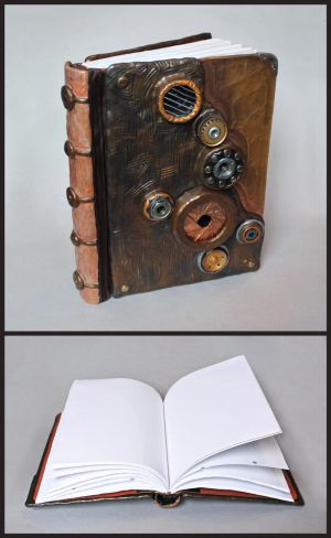 Copper Steampunk Journal by Madelei