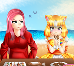 TI: Eating Lessons by Demonshark151