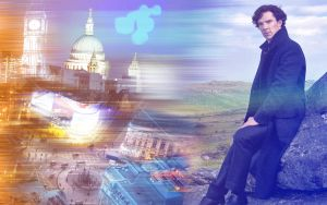Sherlock (BBC) Wallpaper - A longing for London by SeaCat2401