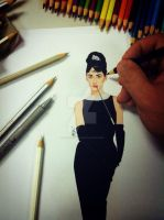 Hollywood Classic - Audrey Hepburn by zichonilpindi