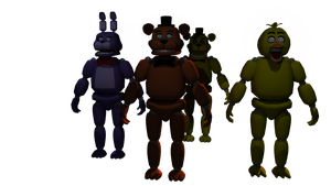 FNAF crew models by bunslake