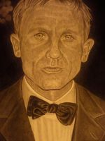 daniel craig   james bond by shirls-art