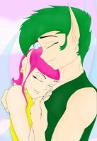 Cosmo and Wanda Fae - Held by Saecollies2