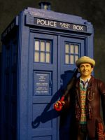 7th Doctor and the 80's Tardis by Police-Box-Traveler