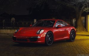 Porsche 911 Carrera S Night Scene by aykutfiliz