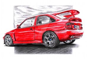 Ford Escort RS Cosworth by Arek-OGF