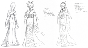 Lulu variation sketches by vampirate777