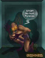 Flight of Fire - No Hurt Pyranax by Leeanix