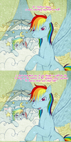 Tumblr - Rainbow Dash Important Announcement by tinuleaf