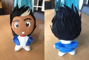 Zayn Malik of One Direction Plushie by SaphireSkyline