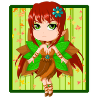 Forest Fairy by Stormweaver-Arts