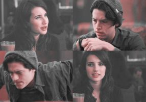 Jughead and Chanel| Same Old Love by xLexieRusso2