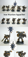 Iron Warriors Squad Bet by Belazikkal
