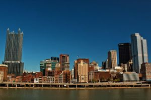 Pittsburgh River Front by shaguar0508