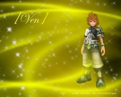 KH Wallpaper - Ven by Roxas-Number-XIII