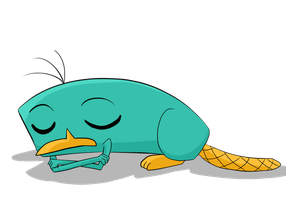 Sleeping Perry by Torosiken