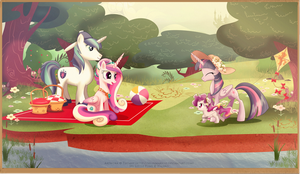 Family Picnic by selinmarsou