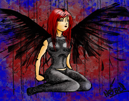 deadly Angel by gr8lady