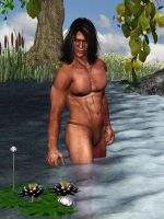 Water Lilies and Speedos by GrannyE