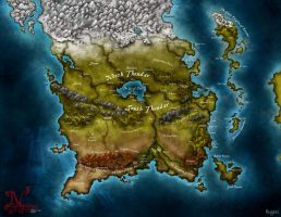 Map for Dnd campaign by Stormcrow135