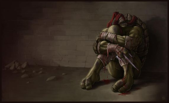 *RAPHAEL* goodbye, my brothers... by DeadPea