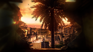 Call of Duty 4 - Backlot by kitteeh