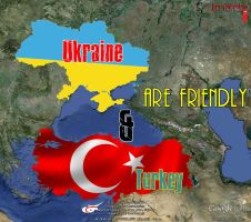 Turkey and Ukraine are friendly by llmatako