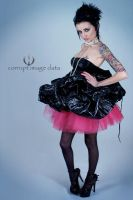 The Trash Bag Dress by collective-chaos