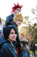 Roxas - Just the three of us by Felimac