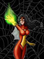 Spider-woman! by ultimatejulio