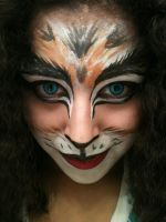 Cats Inspired Makeup by deadpool24