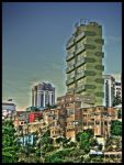 Green building by zentenophotography