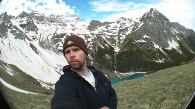 Me Above the Lower Blue Lake (B-Day Camping Spot) by Bennuendo