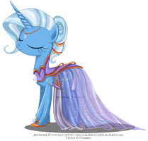 Commission - Gala Gown for Trixie by selinmarsou