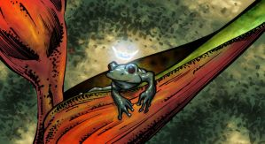 frogKING by MatthewWarlick
