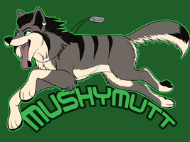 Mushymutt badge by Starwuff