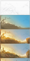 Colorful Season Change Step by step by Black-Wing24