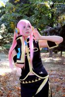 Megurine Luka cosplay by Shenen666